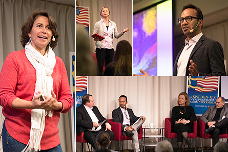 Movie clips from the 2017 Sweden-U.S. Entrepreneurial Forum
